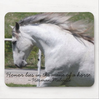 RUNNING ANDALUSIAN CLOSE-UP MOUSEPAD