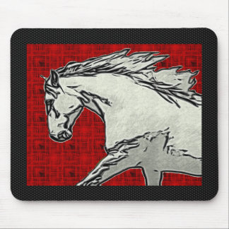 RUNNING ANDALUSIAN SKETCH Mousepad