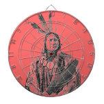 Running Antelope Sioux Tablero De Dardos