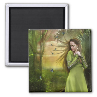 Running Away (Magnet) 2 Inch Square Magnet