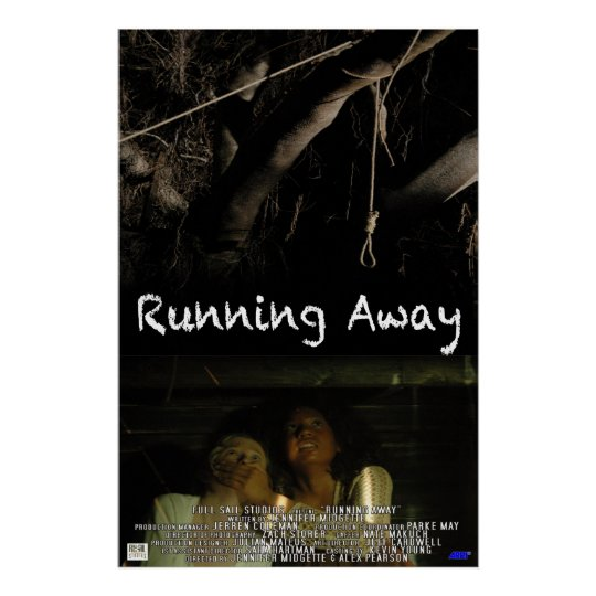 Running Away Poster
