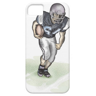 Running Back scratchboard illustration iPhone SE/5/5s Case