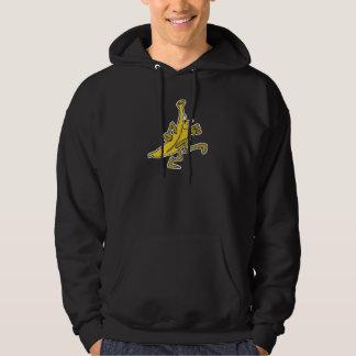 running banana hoodie