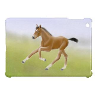 Running Bay Thoroughbred Foal iPad Mini Case