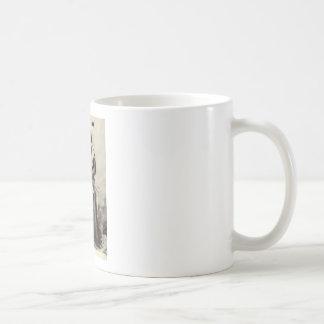 Running Bear Classic White Coffee Mug
