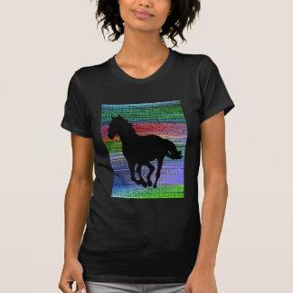 Running Black Horse T-shirt