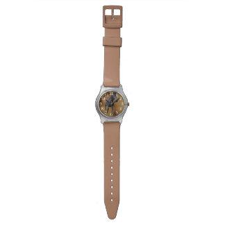 Running Black Percheron Horse-lovers Wrist Watches