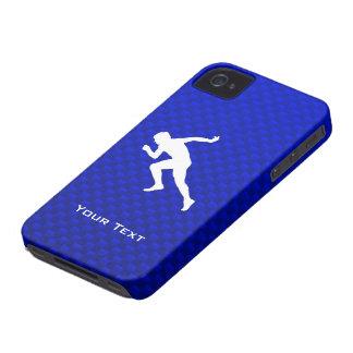 Running; Blue Case-Mate iPhone 4 Case