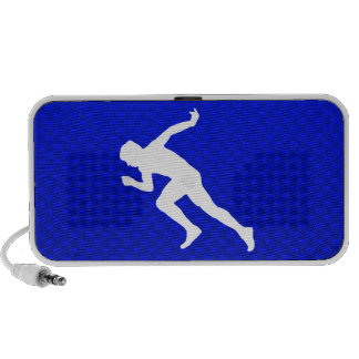 Running; Blue Notebook Speaker