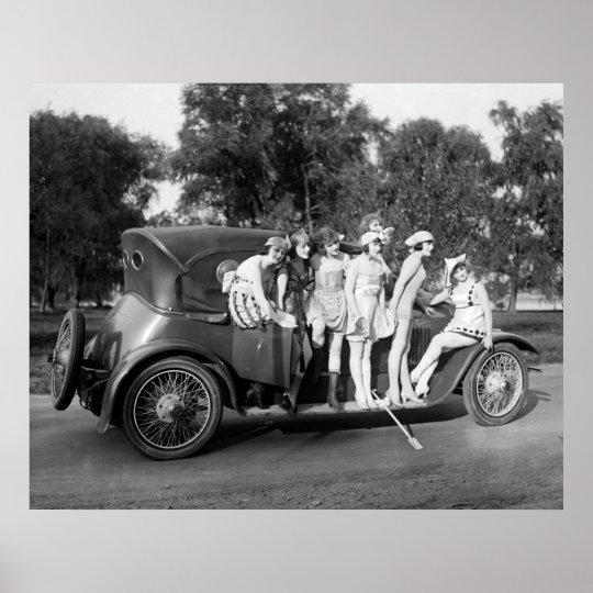 Running Board Bling: 1920 Poster