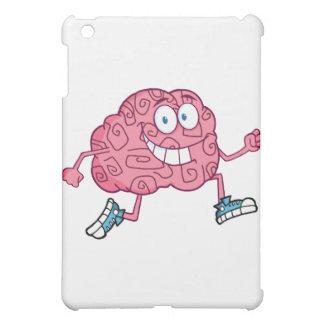 Running Brain Cartoon Character iPad Mini Cases