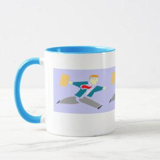 Running Businessman Mug