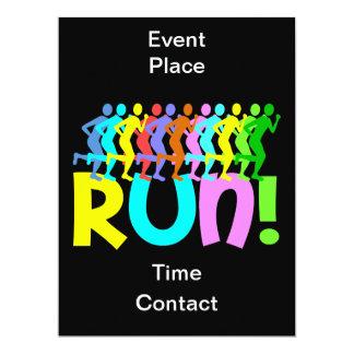 running card