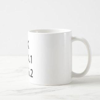 Running Checklist Coffee Mug