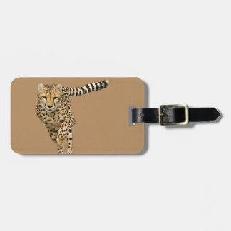 Running Cheetah Tags For Bags