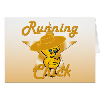 Running Chick #10 Card