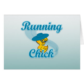 Running Chick #3 Card