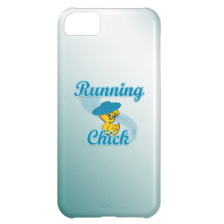 Running Chick #3 Cover For iPhone 5C