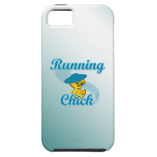 Running Chick #3 iPhone 5 Cover