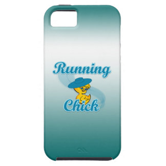 Running Chick #3 iPhone 5/5S Cases