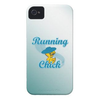 Running Chick #3 iPhone 4 Case-Mate Cases