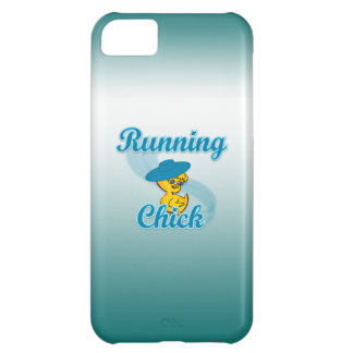Running Chick #3 iPhone 5C Cases