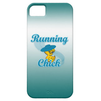 Running Chick #3 iPhone 5/5S Cover