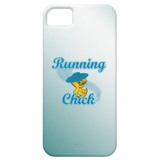 Running Chick #3 iPhone 5/5S Case