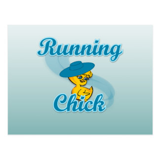 Running Chick #3 Postcard