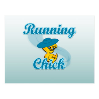 Running Chick #3 Postcards