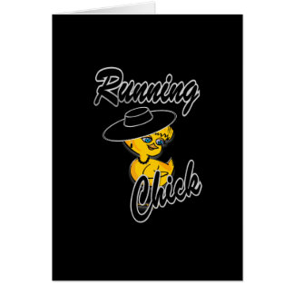 Running Chick #4 Card