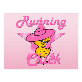 Running Chick #8 Postcard