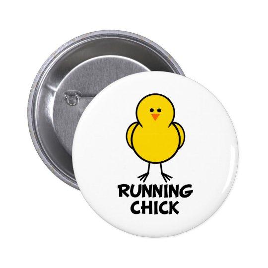 Running Chick Button