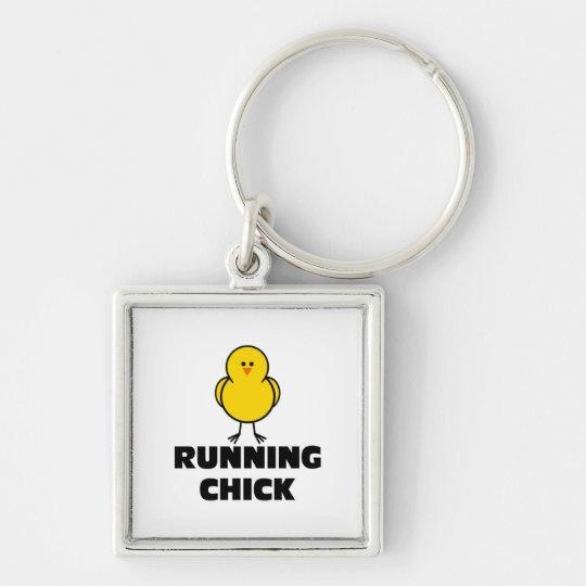 Running Chick Keychain