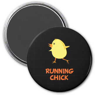 Running Chick Magnet