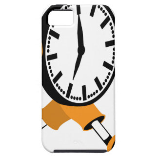Running Clock iPhone SE/5/5s Case