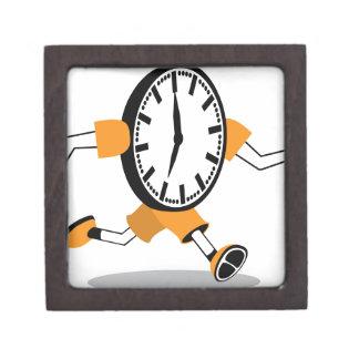 Running Clock Premium Trinket Box
