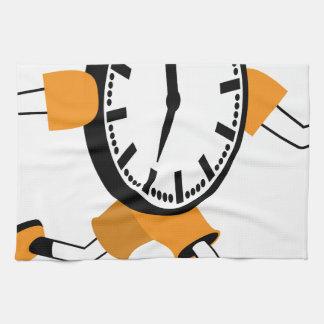 Running Clock Towels