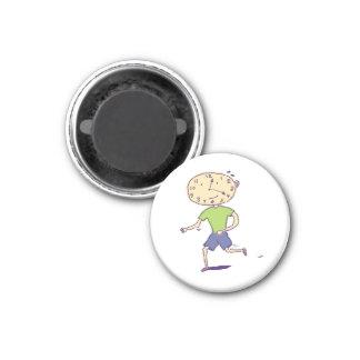 Running Clockface Magnet