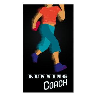 Running Coach - Business-, Schedule Card Business Card