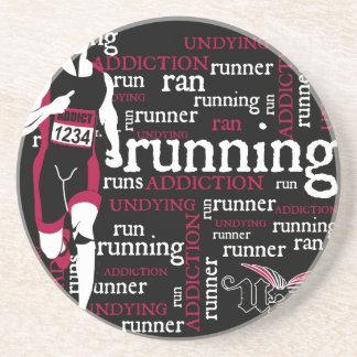 Running Beverage Coaster