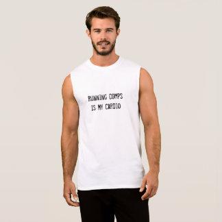 Running Comps Is My Cardio - Men's Tank Top