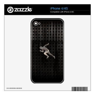 Running; Cool iPhone 4 Decal