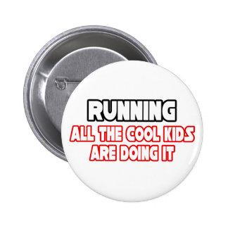 Running Cool Kids Button