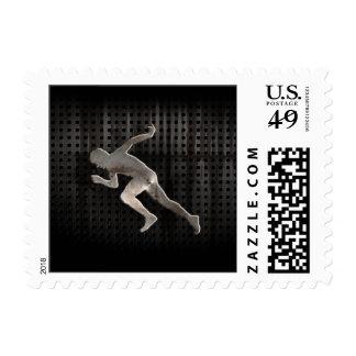 Running; Cool Stamp