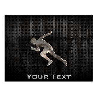Running; Cool Postcard