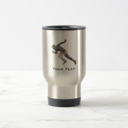 Running; Cool Travel Mug