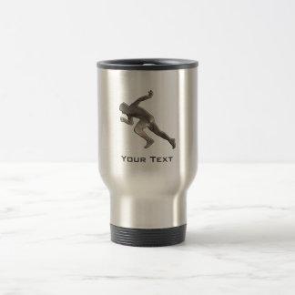 Running; Cool Travel Mug