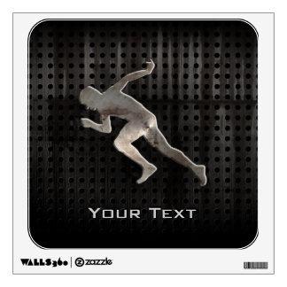 Running; Cool Wall Sticker