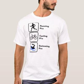 Running, Cycling, Swimming Triathlon T-Shirt